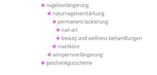 Nagelverlängrung, naturnagelverstärkung, permanetlackierung, wompernverlängerung